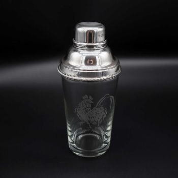 Art Deco Silver Plated cocktail shaker by James Dixon & Sons