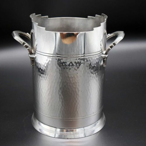 Good Art Deco wine cooler / ice bucket by Mappin & Webb.
