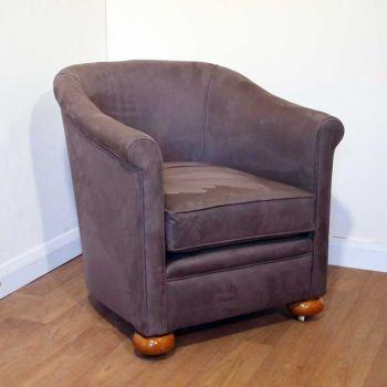 Art Deco tub chair by Maple & Co