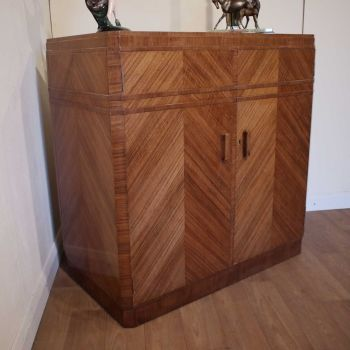 Art Deco storage cabinet by Maple & Co.