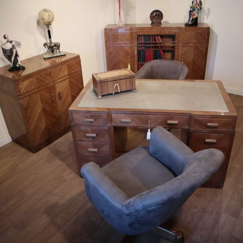 Fine Art Deco office suite by Maple & Co.