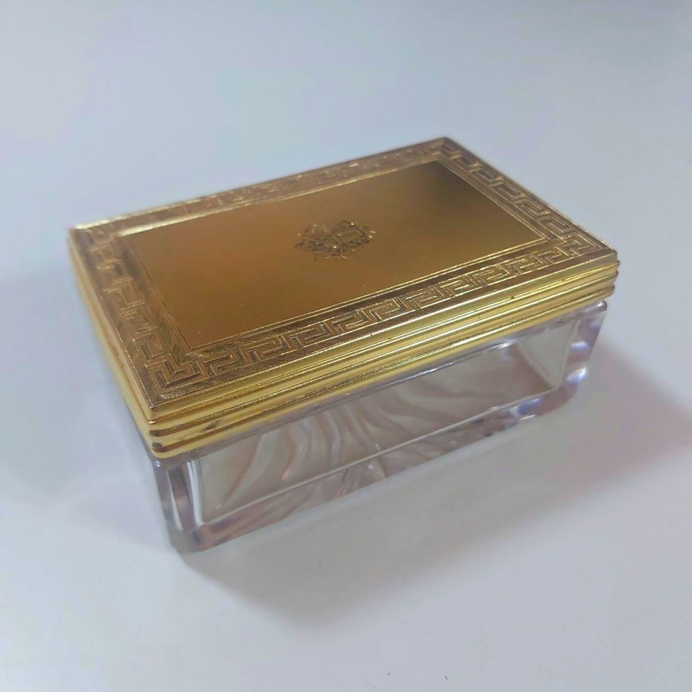 Antique silver gilt dressing box William Neal London 1868