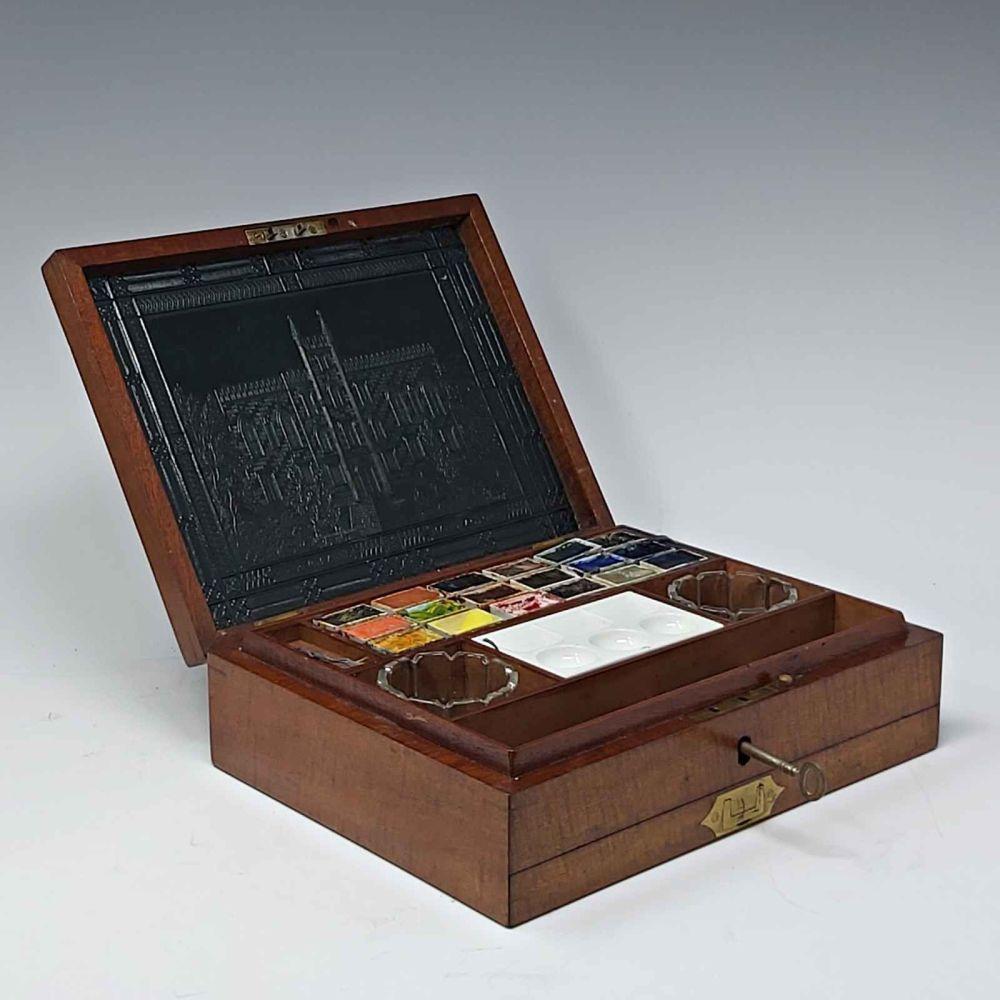 Antique artist's box by J.Newmans
