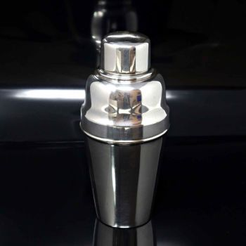 Art deco silver plated cocktail shaker.