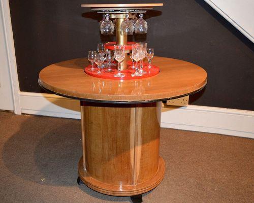 Art Deco Pop Up Cocktail Table