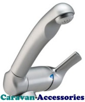 DLT557MN Reich Keramik Style Microswitched Single Lever Mixer Hot & Cold Tap (12mm Barbed Tails)