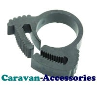 "HBG 12mm (1/2"") Nylon Snap Hose Clips ""For Underwater Use"" (SIZE G)"