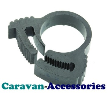 """HBG 12mm (1/2"""") Nylon Snap Hose Clips """"For Underwater Use"""" (SIZE G)"""