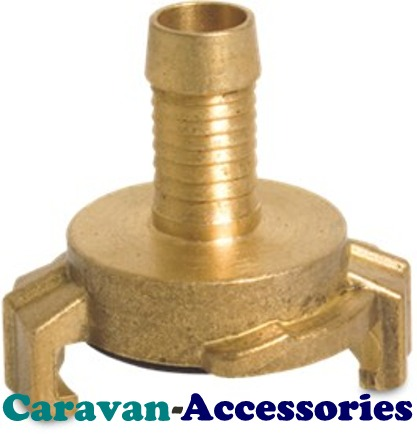"HFQBH100 Brass 1"" Hose Barb For (HFQB) Quick Connect Water Fittings"