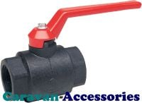 "MDT040 40mm (1 1/4"") Mega Drain Ball Valve Female Threaded Connections"