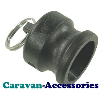 "QCMCAP 40mm (1 1/4"") Blanking Cap Mega Drain Quick Connect (Male)"