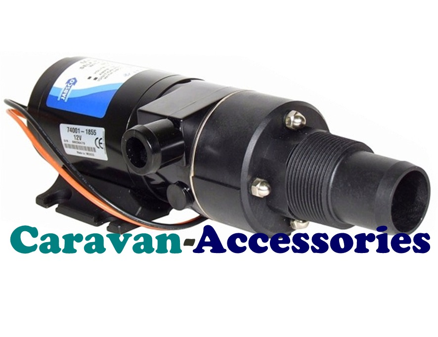 JM18590-2092 JABSCO Run-Dry Macerator Waste Pump - 12 Volt - 12GPM - 45LPM