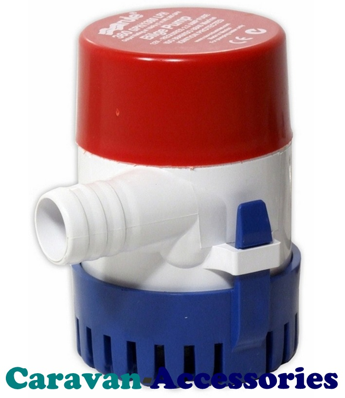 JMBP24 Rule 24 - 360 Submersible Bilge Pump - 12 Volt - 360GPM - 1363LPM
