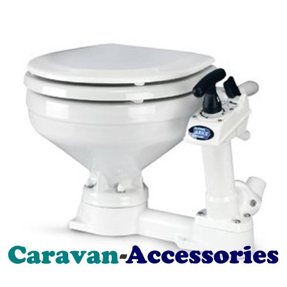 JM29090-5000 JABSCO Compact Bowl 'Twist n' Lock' Manual Toilet