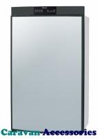 RM8400L Dometic 8 Series Fridge Freezer - 95 Litre - 3-Way - Left Hand Hinged - Battery Pezio Ignition
