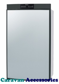 RM8400L Dometic 8 Series Fridge Freezer - 95 Litre - 3-Way - Left Hand Hinged - Battery Pezio Ignition