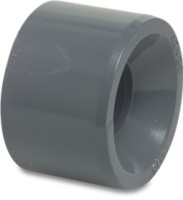 RW4032RED Rigid Waste Mega Short reducer PVC-U 40 mm x 32 mm glue spigot x glue socket 16bar grey