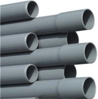 RW40P Rigid Waste Pressure Pipe PVC-U 40 mm x 1,9 mm glue socket x plain 10bar grey 5m