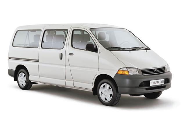 BX105 Toyota Hiace & Granvia