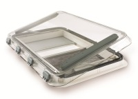 SH32533 Dometic Heki 3 Plus Roof-light Double Glazed Clear Panel (Max Open Distance 70°) Hand Crank