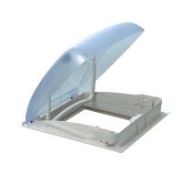 SMH2542 Dometic Mini Heki Plus Non-Vented Clear Dome (Max Open 50°) Manual Lever