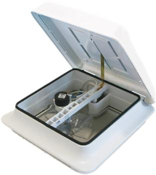 FTV28FW Fiamma Turbo Vent 28 White Dome Forced-Ventilation (170mm Fan)