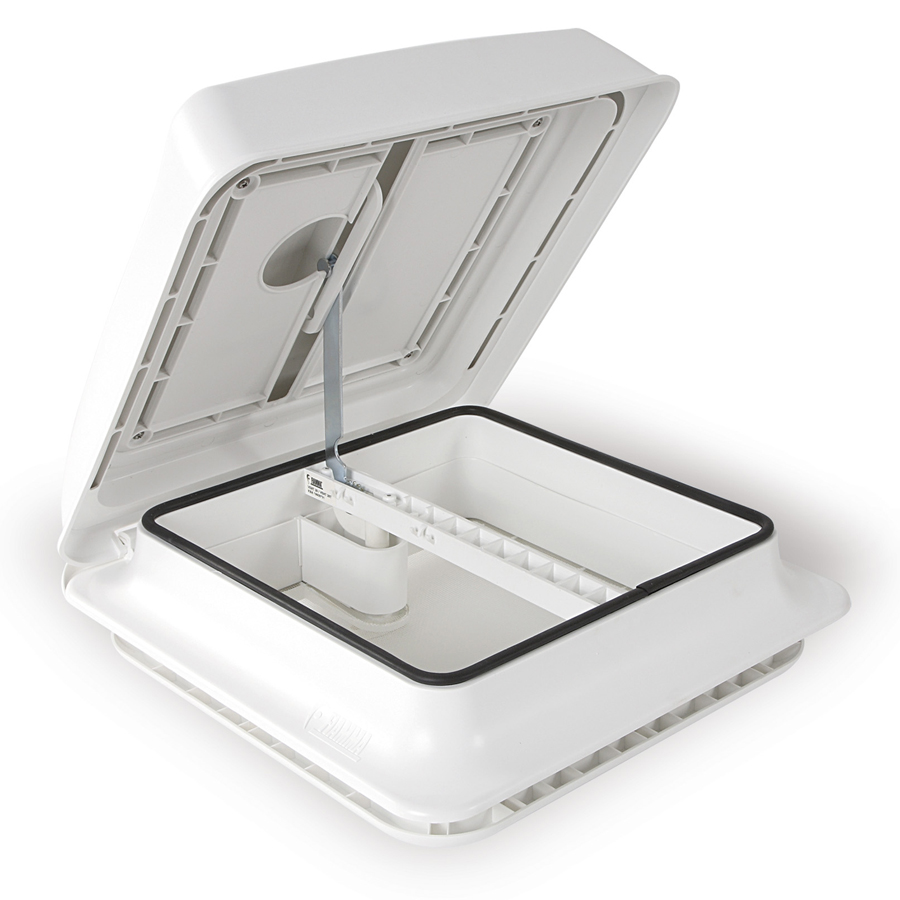 FRV28W Fiamma Vent 28 White Dome Forced-Ventilation (NONE)