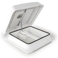 FRV160W Fiamma Vent 160 White Dome With Standard Fixed Ventilation & Mosquito Net