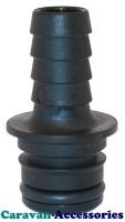 """JM30654-1000 JABSCO 12mm (1/2"""") Barbed Straight Connection For Par-Max Pumps"""