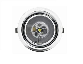 LED23RM Dometic L23RM LED Recessed Spotlight 12 Volt With Switch (Chrome)