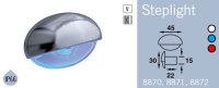 LFR8872CRED FRILIGHT Steplight LED Courtesy Light 12 Volt (RED LIGHT) Single LED IP66
