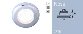 LFR9775C FRILIGHT Nova LED Recessed Downlight 12 Volt 36SMD