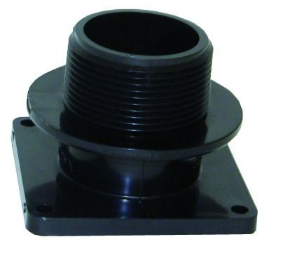 "SVAL24713 VALTERRA (1 1/2"") Slide Valve Mounting Flange With Collar & 1 1/2"" Male Thread"