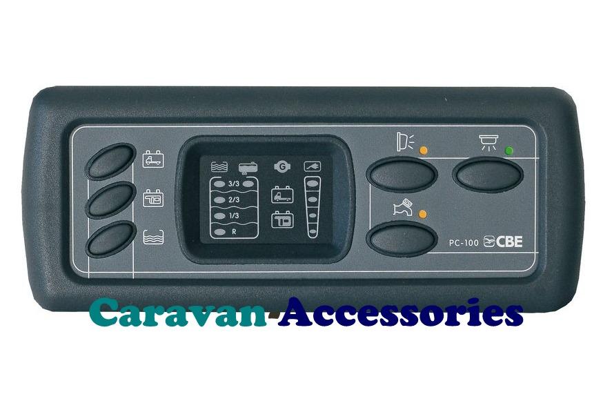 CBE PC100 Digital Caravan & Motorhome Control Panel Complete Kit (PC100KIT)