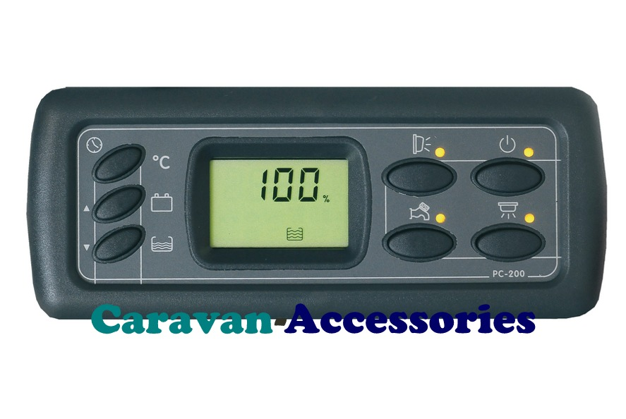 CBE PC200 Digital Caravan & Motorhome Control Panel Complete Kit (PC200KIT)