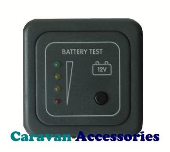 CBE MTB/G Battery Level Gauge LED indicator Lights (Grey)