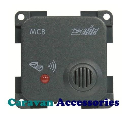 CBE MCB Electric Step Open Warning Buzzer With LED Warning Light (Grey)