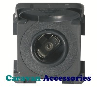 CBE MP12AC/G 12 Volt Auto Socket with Hinged Cover (Grey)