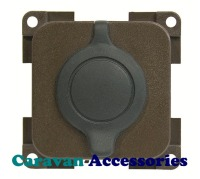 CBE MP12ACS/G Splash Proof 12 Volt Auto Socket (Grey)