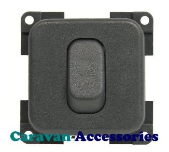 CBE MCD1N/G Single On/Off Switch (Grey)