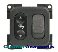 CBE MCGD5/G Twin Switch For Step & Awning Light (Grey)