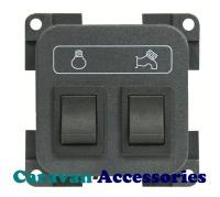 CBE MCPL/G Pump & Lights Control Switch (Grey)