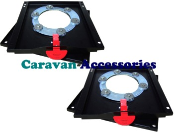 Seat Swivel Twin Kit For X250 Fiat Ducato, Citroen Relay & Peugeot Boxer