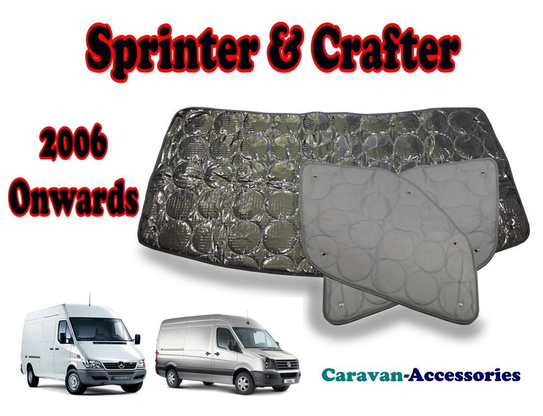 BX085 Mercedes Sprinter & Volkswagen Crafter (06/2006 ONWARDS) 9 Layer Inte