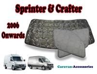 BX085 Mercedes Sprinter & Volkswagen Crafter (06/2006 ONWARDS) 9 Layer Internal Silver Thermal Screen