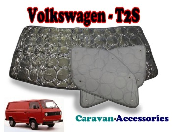 BX110 Volkswagen T2S Transporter (1980-1990) 9 Layer Internal Silver Thermal Screen