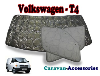 BX111 Volkswagen T4 Transporter (1991 ONWARDS) 9 Layer Internal Silver Thermal Screen