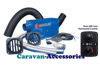 PX20124 NEW Propex HS2000 Heat Source 2000 Single Outlet 2000 Watt, 24 Volt Electric Air Heater (Full Kit)