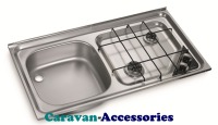 Dometic HS 2421L 2-Burner Hob/Sink Combination 9103301744