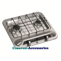 Dometic HB 2370 2-Burner Hob with Piezo Ignition 9103301755